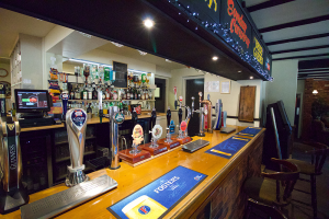 Bar Gallery // Stay at the Plough Inn in Marsham