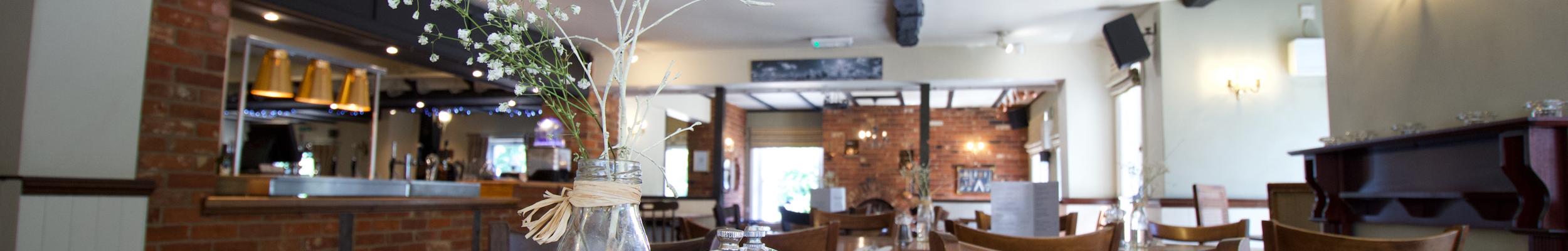 Restaurant // The Plough Inn Bar, Restaurant & Accommodation