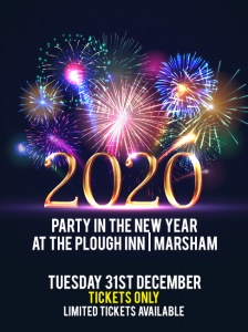2020 Party in the New Year at the Plough Inn Marsham